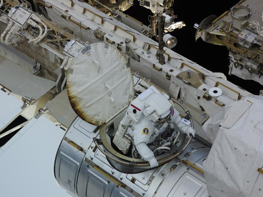 Third Spacewalk Succeeds in Replacing Cooling Pump Aboard ISS