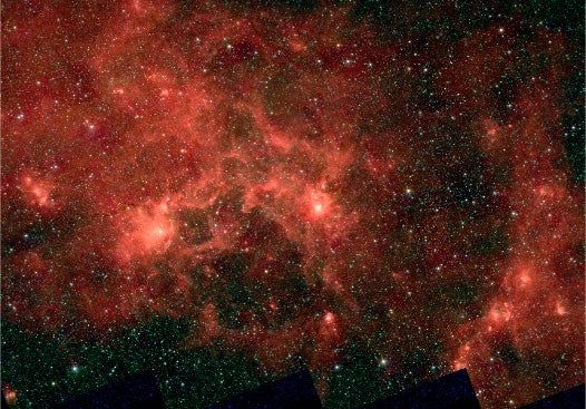 Pretty Space Pics: The Dragonfish, a Crowded Cluster of Super-Massive Stars