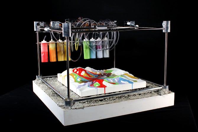 3-D Painting Visualizes Earthquakes In Real Time