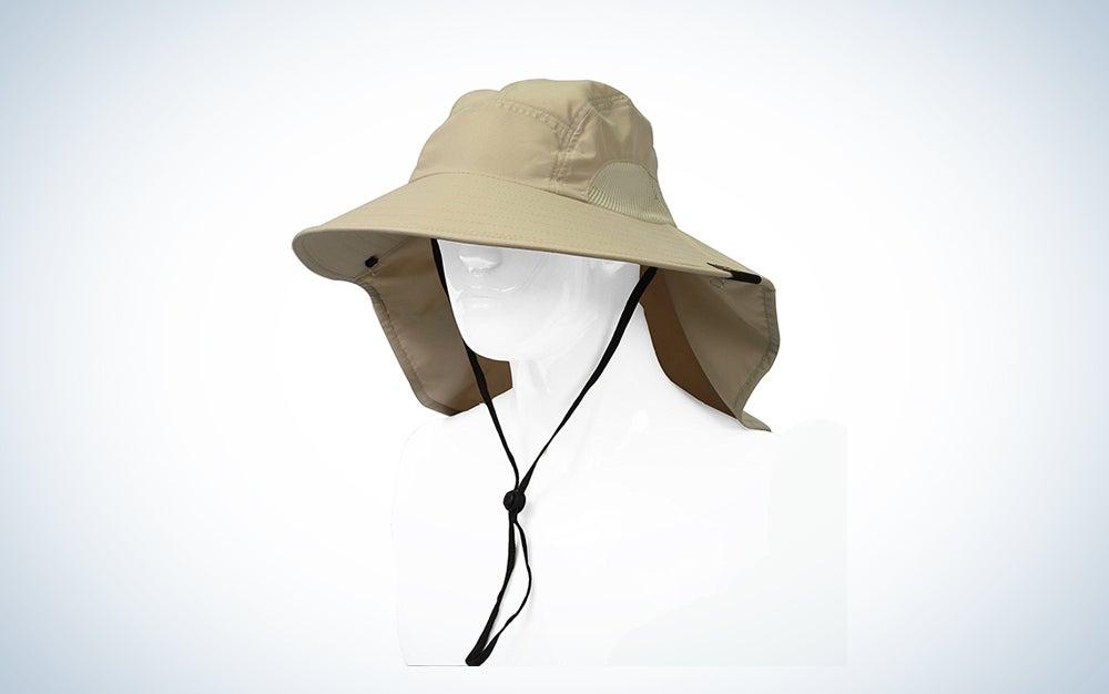 Sun Blocker Unisex Neck Flap Hat Sun Protection Hat