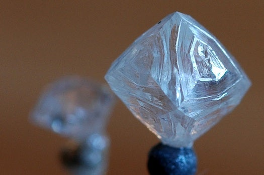 Superheated Water Etches Diamond