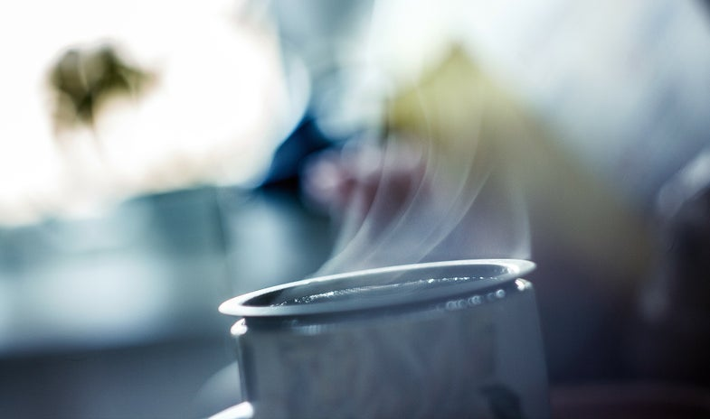 Does drinking hot liquids on a hot day actually cool you off?
