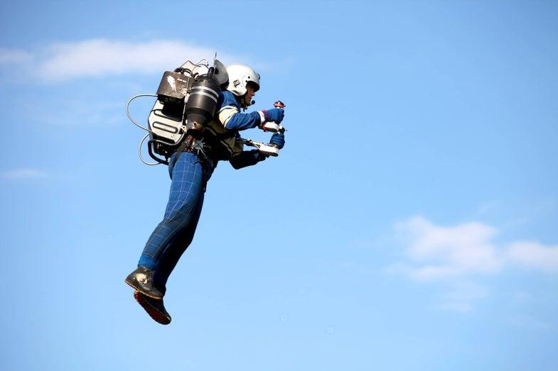 Watch This Jetpack Do Strange Things Near Ellis Island
