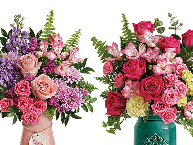 Teleflora has mastered the science of a great Mother's Day bouquet