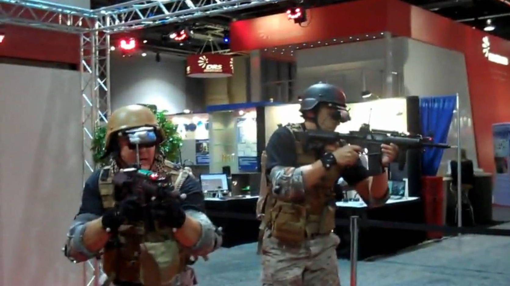Video: Raytheon's Free Roaming Combat Simulator Lets You Feel Getting Shot