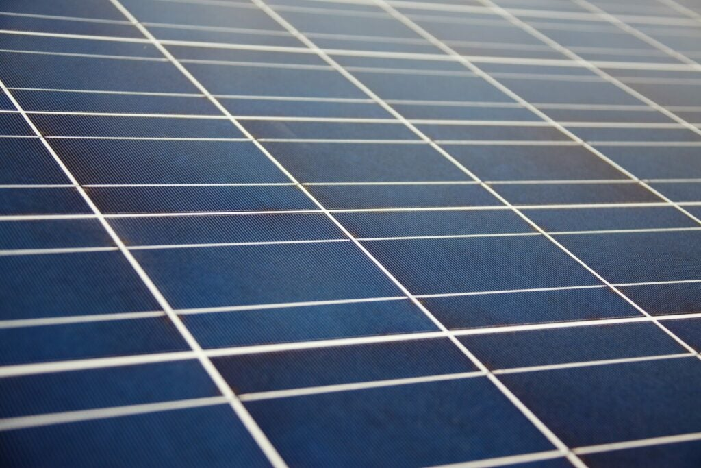 Solar panels are made with tellurium, a metal more rare than gold.