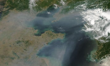 Changing weather patterns are trapping pollution over Chinesecities