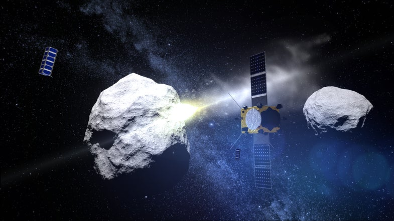 These Tiny Satellites Will Record An Asteroid Strike In 2022
