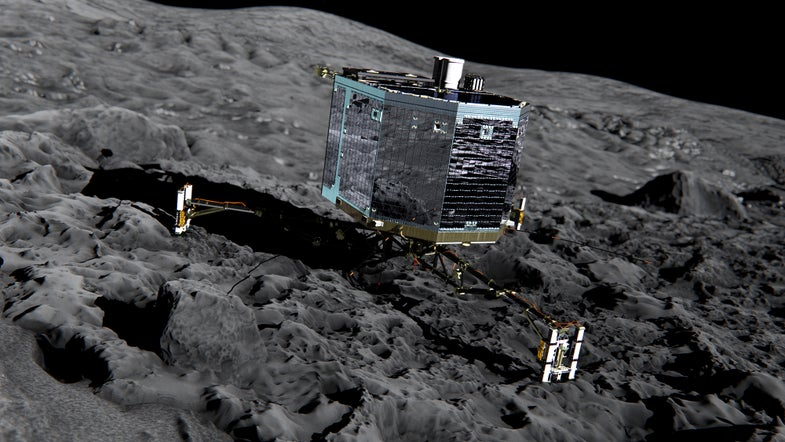 Landing Site On Rubber Ducky Comet Has A New Name