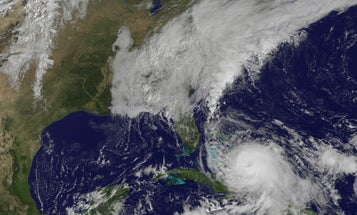 Hurricane Joaquin Tracking Back Out To Sea