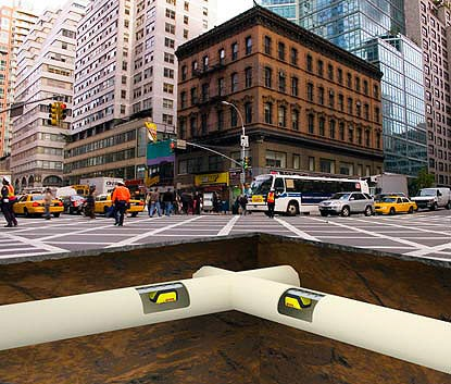 Your Next Package Might Be Delivered Via Sewer Pipes