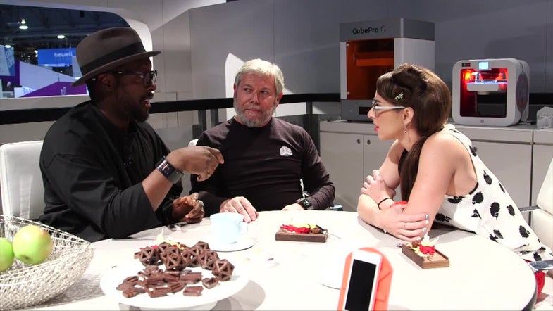 CES 2015: will.i.am's 3-D Printer Turns Trash Into Ornate Objects [Video]