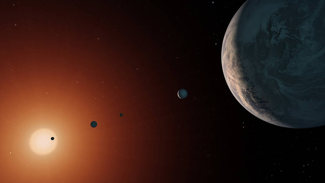 Good news: these exoplanets probably have water. Bad news: AHHH SO MUCH WATER.