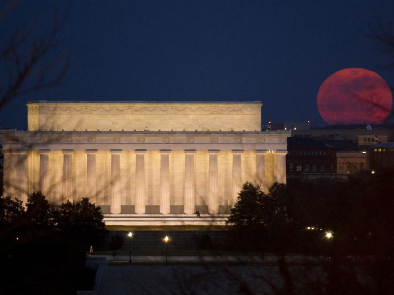 At Its Nearest to Earth In Almost 20 Years, Supermoon Gets a Closeup
