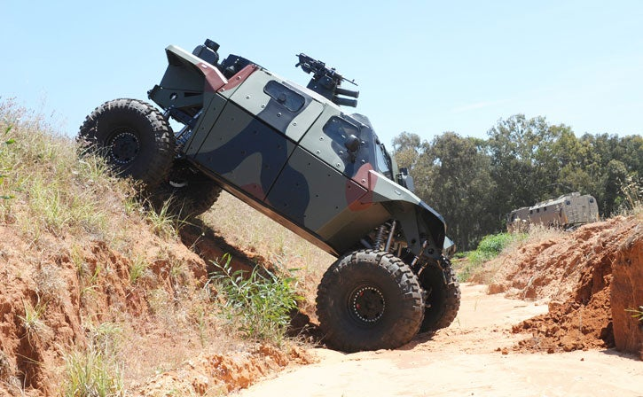 New CombatGuard Four-Wheeler Is An Armored ATV
