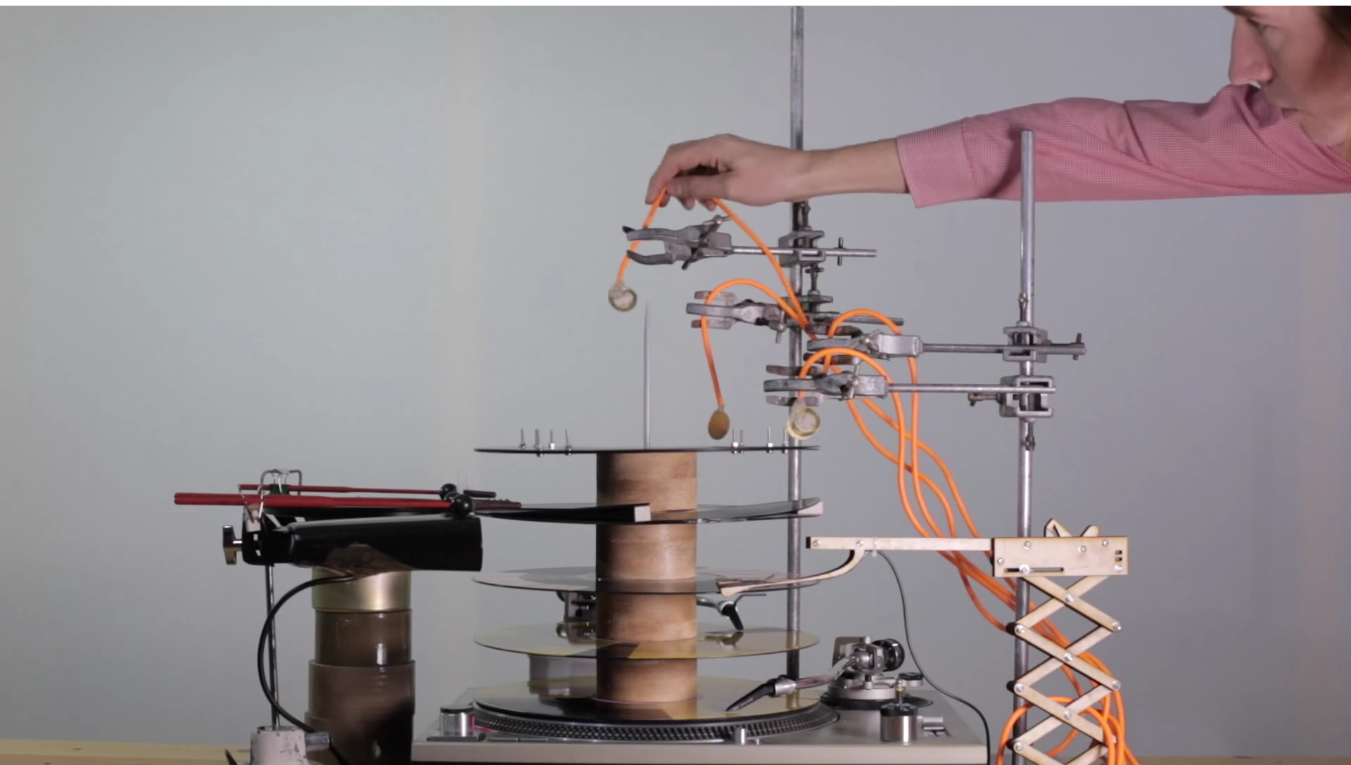 Dance To A Literal Techno Machine Made With A Turntable