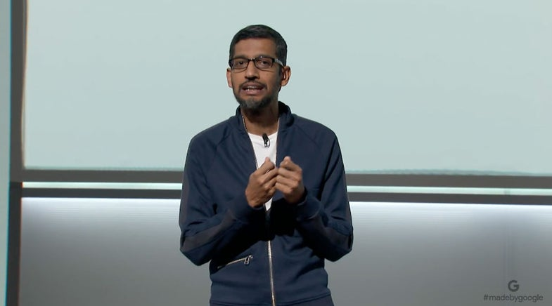 Let's watch Google announce the Pixel 2, the Home Mini, and other stuff
