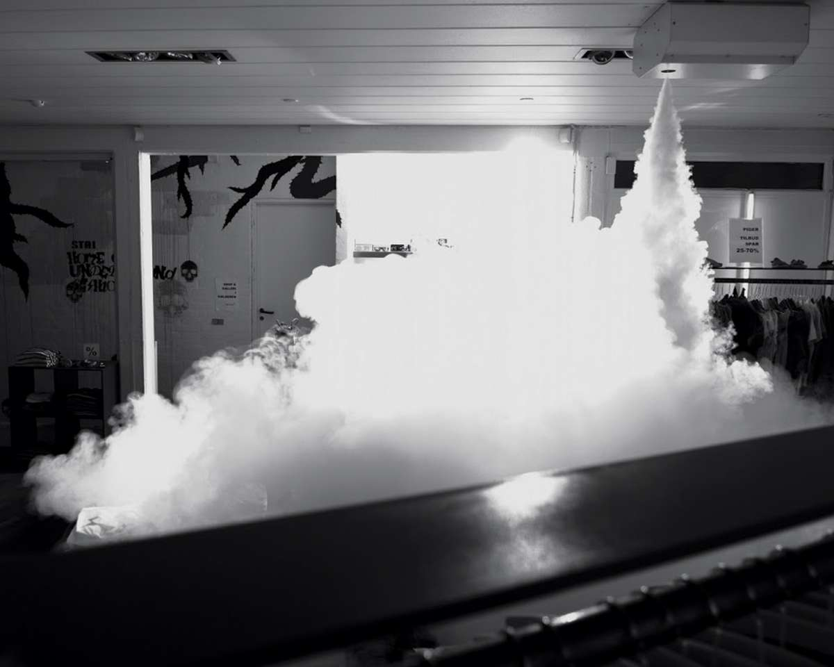 A Genetic Fog Machine That Tags Criminals