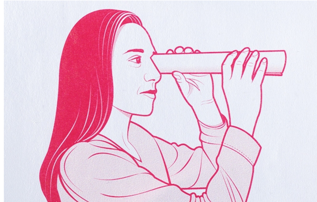 Turn any magazine into a flashlight with this optical illusion