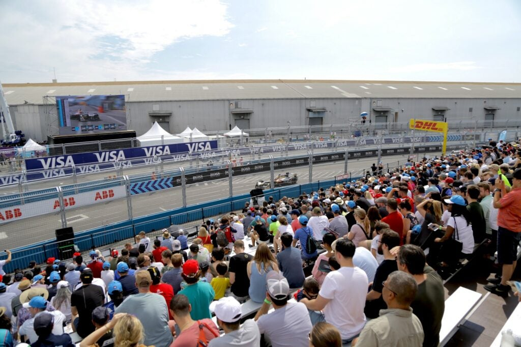 The 2018 Qatar Airways New York City E-Prix, July 15, 2018.