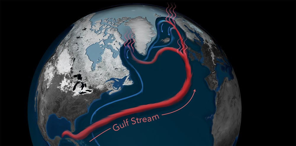 Something weird is happening to the Gulf Stream current