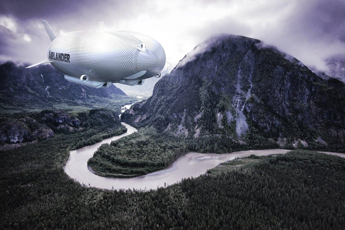 The World's Longest Aircraft Is Half-Blimp, Half-Zeppelin
