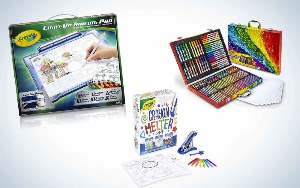 Crayola art supplies