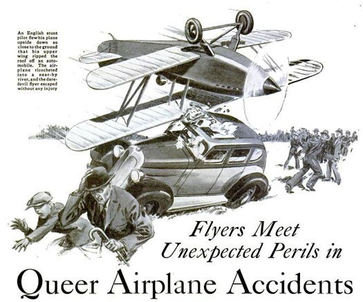 Unexpected Perils: May 1936