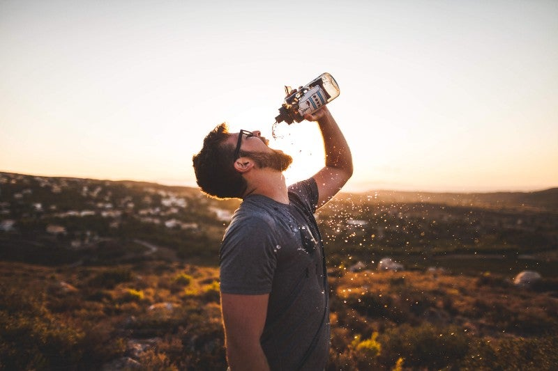 Dehydration becomes a distinct risk at higher temperatures.