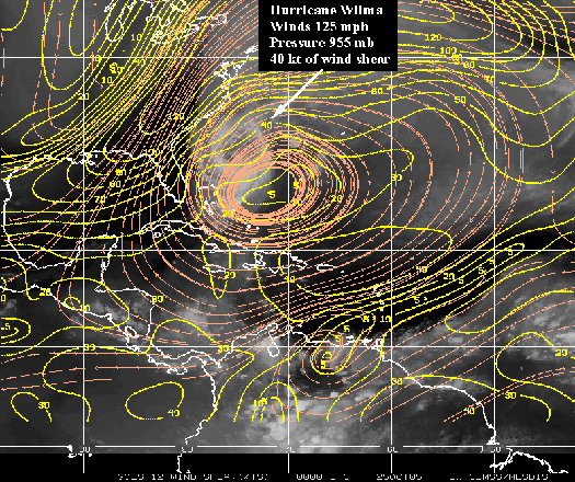 The Dictionary Of Hurricane Sandy: Wind Shear