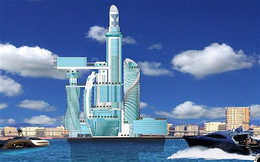 Who Wouldn't Want To Stay In This Totally Insane Space Hotel!?
