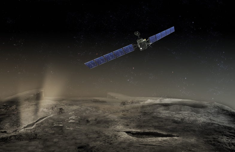 To Listen For Philae Lander, Rosetta Orbiter Moves Perilously Close To Comet