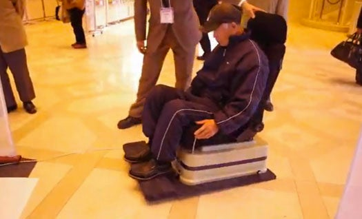Hover-Chair Brings Senior Citizen Air Hockey One Step Closer To Reality
