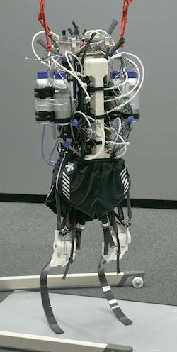 Video: Shorts-Wearing Japanese Sprinter-Bot Runs Like a Human on Robotic Legs
