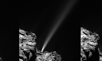 Rosetta's Comet Lets Out An Epic Fart