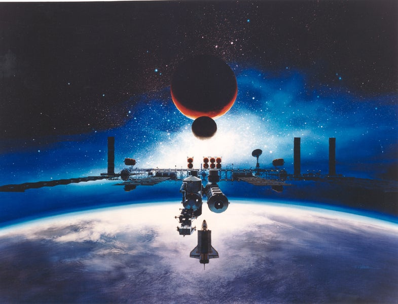 These Incredible Space Station Concepts Never Got Off The Ground