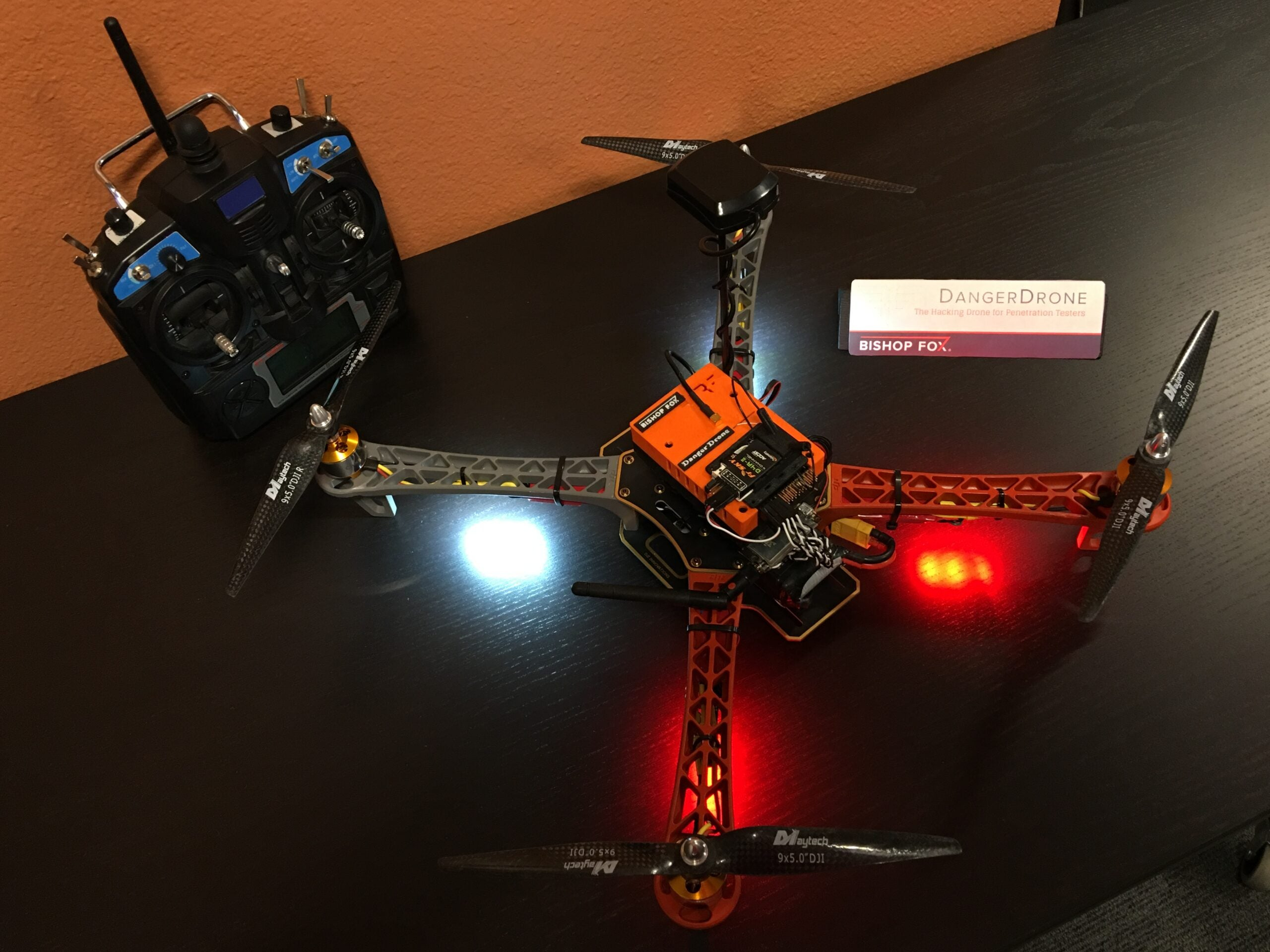 Researchers Put A Tiny Computer On A Drone To Make It A Hacking Machine