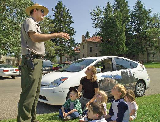 Yellowstone National Park Reuses Old Toyota Camry Hybrid Batteries To Power Buildings