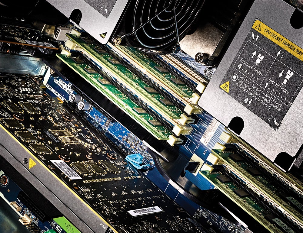 How the world's fastest workstation PC compares to other machines