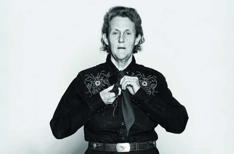 Temple Grandin Wants The World To Raise Resilient Animals