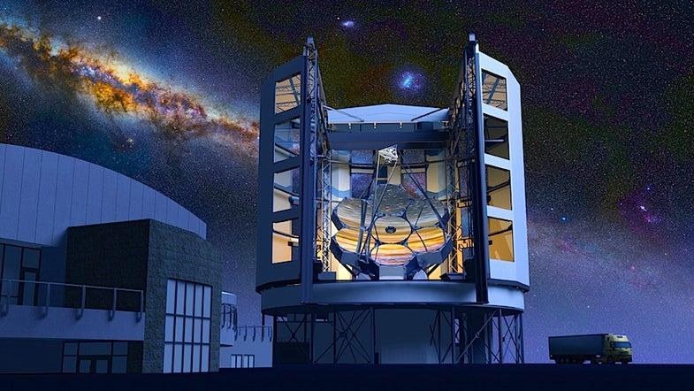 Grinding 20-Ton Mirrors For The Giant Magellan Telescope
