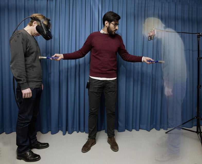 Scientists Can Trick You Into Thinking You're Invisible