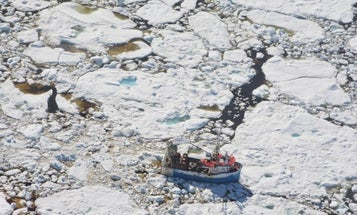 A warmer Arctic caused icy traffic jams in seas down south
