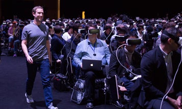 This Is The Defining Photo Of Virtual Reality (So Far)