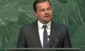 Video: Leonardo DiCaprio Urges United Nations To Take Paris Climate Agreement Seriously