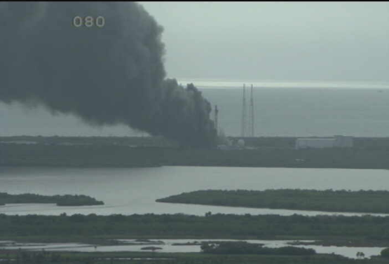 Possible SpaceX Explosion