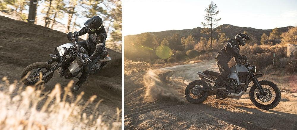 dirt sliding the Rev'It 95