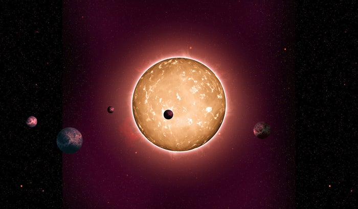 Researchers Discover An Ancient Replica Of Our Solar System