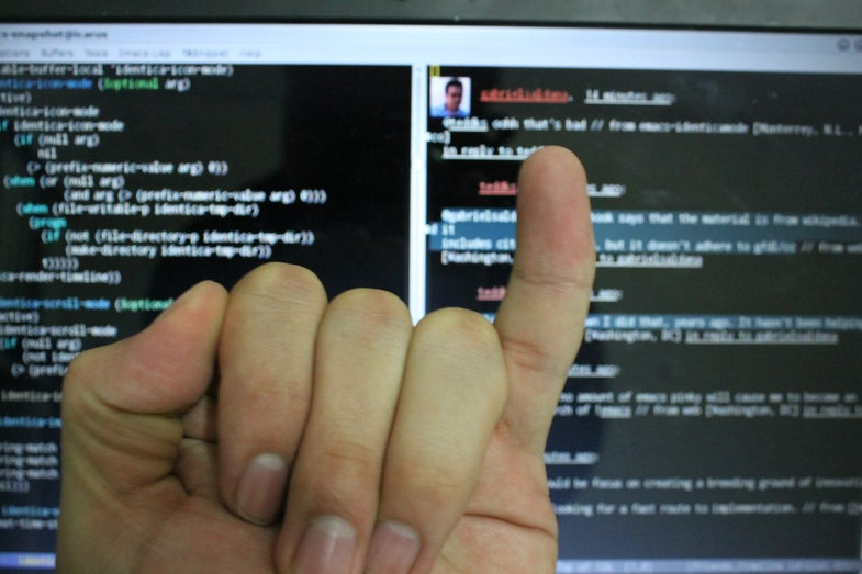 You Probably Don't Have Smartphone Pinky