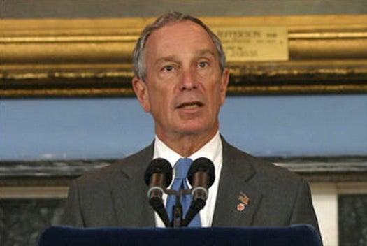 NYC Mayor Bloomberg, Citing Climate Change, Endorses Obama